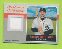 2019 Topps Heritage Clubhouse Collection Relic - Nicholas Castellanos (CCR-NC)