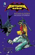 BATMAN+ROBIN #3 ...MÜSSEN STERBEN HC lim.Hardcover Variant lim. 222 Ex. REBORN