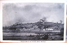 Montana Postcard BUTTE Richest Hill in the World on Earth 1949 Mont Copper Mines