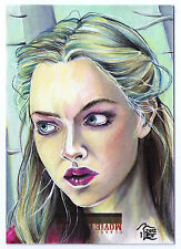 Little Red Riding Hood case topper signed auto sketch card T Levandoski 1/1 aceo