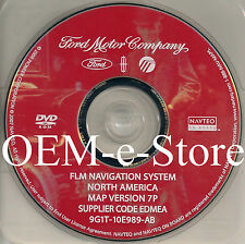 7P Update 2006 Lincoln Zephyr FLM Navigation DVD Maps U.S Canada 9G1T-10E989-AB