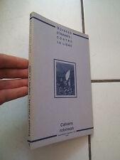 CAHIERS ROBINSON / NUMEROS 19  VOYAGES D ENFANTS /  CONTRE LA LIGNE / 1997