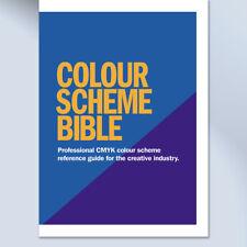 CMYK Colour Scheme Swatch Book for Creative Graphic Design.