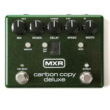 MXR M292 Carbon Copy Deluxe Analog Delay Effects Pedal w/ Tap Tempo + Division