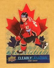 Sidney Crosby 2009-10 Clearly Canadian Rare Insert /100