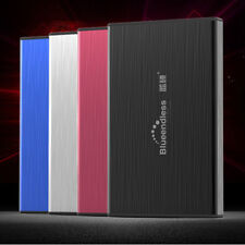 "250GB Portable External Hard Disk Drive 2.5"" USB 3.0 Aluminum Mobile Box Case"