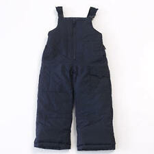 NWT Boys Snow Pants Bibs Navy Size 4 London Fog SKI Overalls Blue Snowboard NEW