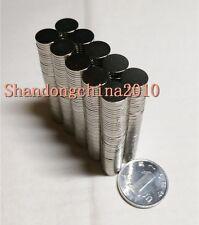 100pcs Neodymium Disc Mini 8mm X 1mm Rare Earth N35 Strong Magnets Craft Models