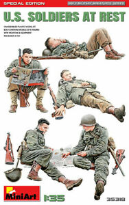 MiniArt 1/35 US Soldiers at Rest (Sepcial Edition)  MIN35318