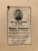 Sterbebild WK1 Division Fuchs, 1915, Flintsbach