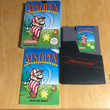 Nintendo NES Boxed Game Complete - Nes Open Tournament Golf Mario