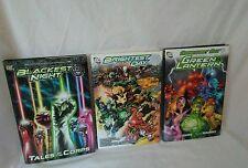 BLACKEST NIGHT TALES OF THE CORPS, Brightest Day Volume 1 and Green Lantern Lot