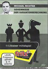 ChessBase Richter - Geheimnisse der Variantenberechnung - fritztrainer NEU / OVP