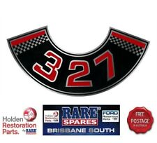 HOLDEN HK CHEV 327 ENGINE AIR CLEANER DECAL MONARO GTS CHEVY CHEVROLET