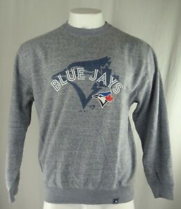 Toronto Blue Jays MLB Majestic Men's Crew Neck Sweatshirt