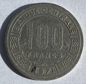 Chad 100 Francs 1971 (KM#2)