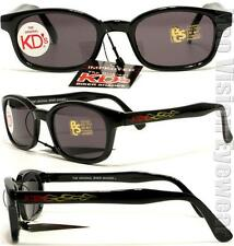 KD's Samcro Flame Smoke Sunglasses KD Motorcycle Sons of Anarchy W Pouch 3010