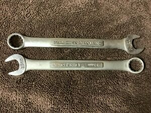Mixed Lot Set of vintage CRAFTSMAN wrenches 13mm