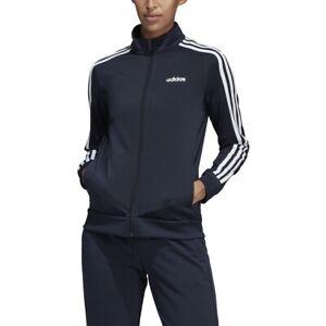 adidas Women's 3 Stripe Track Jacket Coat Only
