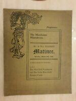 1920 THE MANCHESTER HIPPODROME Mr & Mrs HAINES MATINEE LA CAPRI, PEASANT DANCE