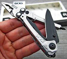 Sog Reactor 8Cr13MoV Folding Blade Multi Tool Assisted Pliers Pocket Knife