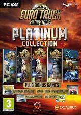 Euro Truck Simulator 2 Platinum Collection PC DVD NEW!