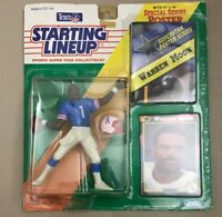 1992 Warren Moon Starting LineUp Houston Oilers W/Poster Figure Team NFL Vintage