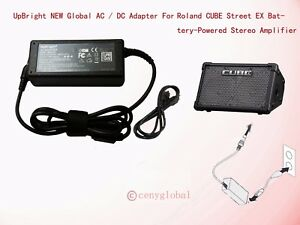 13V AC Adapter For Roland CUBE Street EX Battery-Powered Stereo Amplifier Power