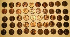 NIce Mint Luster Roll of Lincoln Wheat Pennies (12 DIFFERENT) 1939-1958D