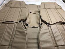 Ford Xb Gt/Fairmont Sedan Front+Rear Seat Trim Covers Parchment aussie Made