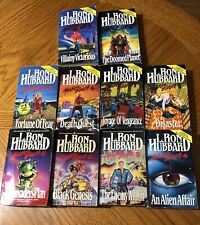 L. Ron Hubbard Mission Earth Series Paperback Books Complete Set.