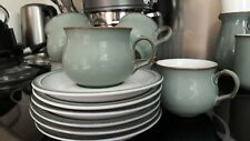 "Denby "" Regency Green "" Tea Cup & Saucer - Excellent condition"