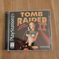 Tomb Raider Ii 2 Lara Croft (Playstation 1, 1997) - Black Label - Complete
