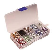 9000pcs Multicolor Resin Crystal Flatback Rhinestones Diamante 4m DIY Craft