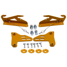 New Quick release Front Bumper Wind Splitter Support Brackets For civic integra