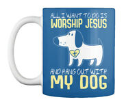Christian - All I Want To Do Is Worship Jesus And Hang Out With Gift Coffee Mug