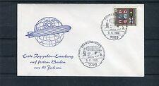 Beleg Erste Zeppelin-Landung auf festem Boden vor 60 Jahren - b2130