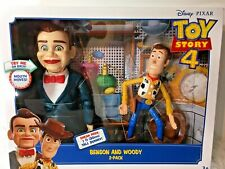Toy Story 4 Disney Benson & Woody 2-Pack Posable Figures Set Unopened New In Box
