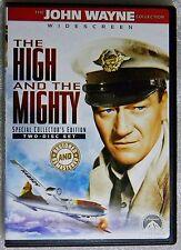 LIKE NEW The High and Mighty 1954 WS DVD 2-Disc Set John Wayne William Wellman