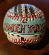 2004 Unforgettaball Camden Yards Baseball Ball Baltimore Orioles