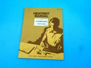 AC Power Supply IPA-5280-1 Heathkit Manual Home Electronics Education