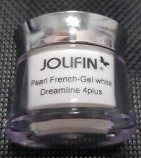 Jolifin Dreamline 4plus Pearl French-Gel white 5ml