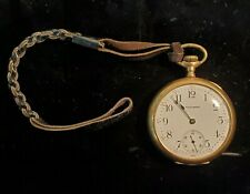 - 15j - Doesn't run, but wants to 1914 Waltham Pocket Watch - Model: 1908 - 16s
