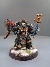 Warhammer 40,000 marines espaciales de metal fuera capellán Terminator armadura 321/977