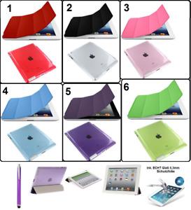 💥Tablet Tasche 2 in1 Schutz klapp Hülle iPad 💥+SchutzGLAS FOLIE💥Ultra Slim💥