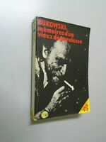 BUKOWSKI - MEMOIRES D UN VIEUX DEGUEULASSE - 1977 - ED SPEED 17