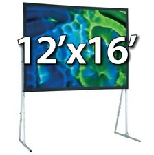 Draper 241099Cd - Ufs 12'x16' Complete Screen System - Dual Projection - Hd-Legs