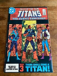 TALES OF THE TEEN TITANS #44 (1984)  DC Comics 1st Nightwing N