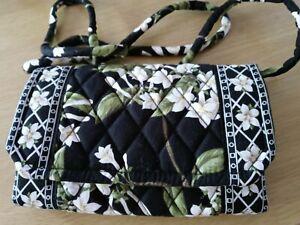 Vera Bradley JASMINE Crossbody Detachable Strap Wallet/Purse/Clutch MINT