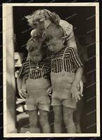 Nice Portrait-jugend-Junge-Knabe-German cute Boy-zwillinge-Dress-BROTHERS-3